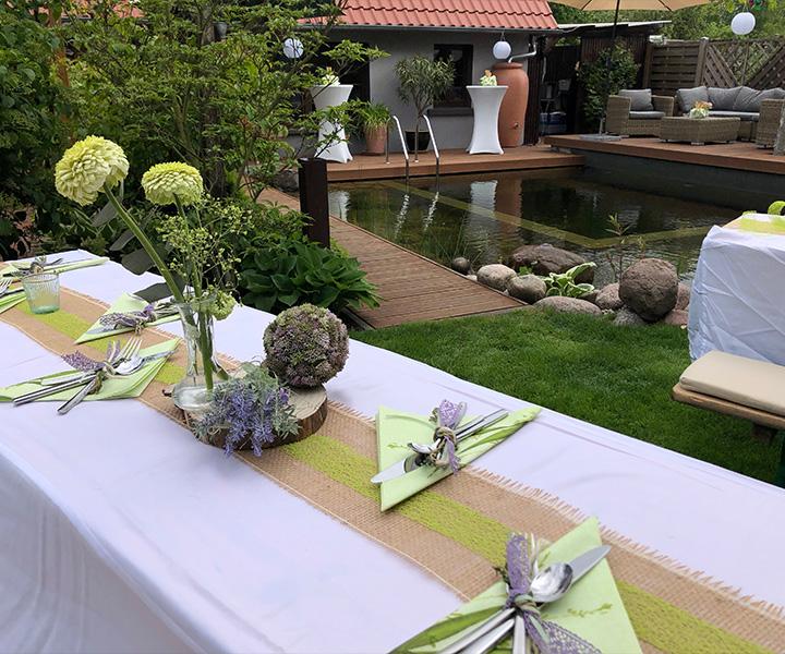 Eventmanagement – Gartenparty