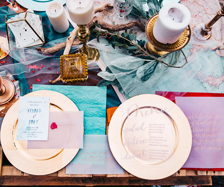 Eventmanagement – Tablett mit Lachs