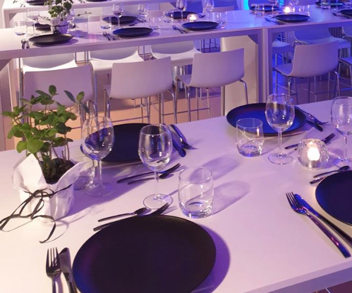 Eventmanagement – Gedeckter Tisch