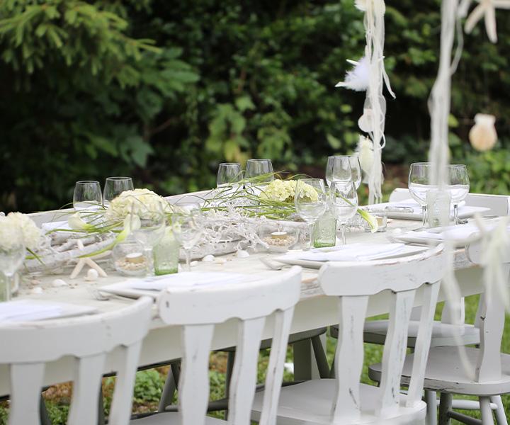 Eventmanagement – Hochzeit Tischdeko